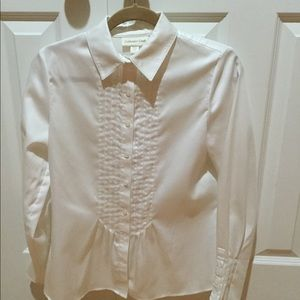 Cold water Creek White Blouse